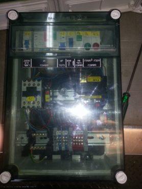 לוח חשמלי לשליטה במשאבות